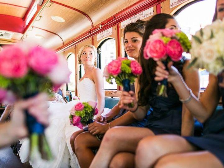 Tmx Bride And Her Girls In Trolley 51 447119 158523502885457 Philadelphia, Pennsylvania wedding transportation