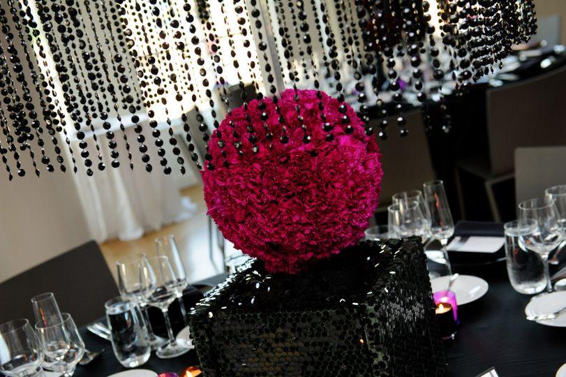Beautiful flower ball