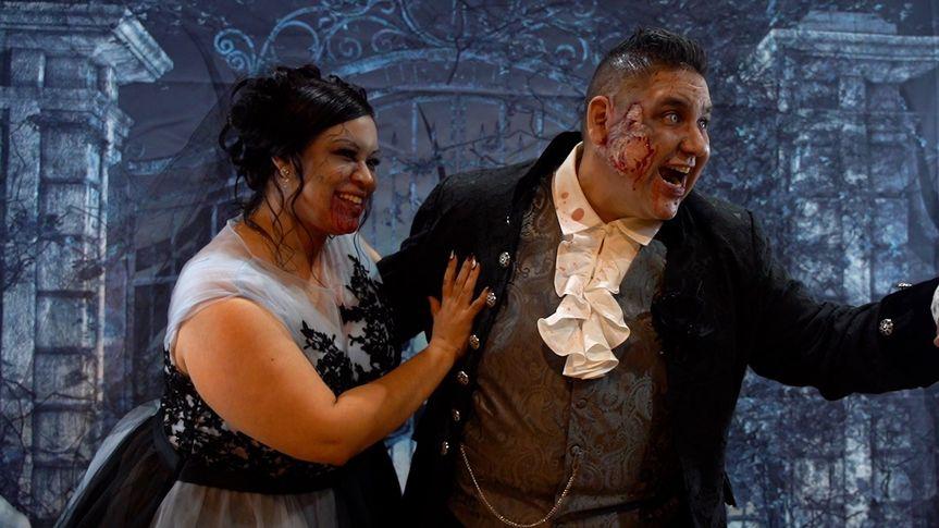 Thematic Halloween Wedding
