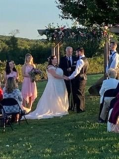 Beautiful farm wedding