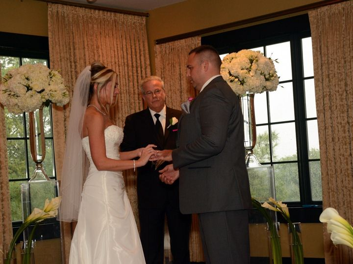 Tmx 1384815464256 Clint Kathy Randy At Alter Ring Frederick, MD wedding officiant