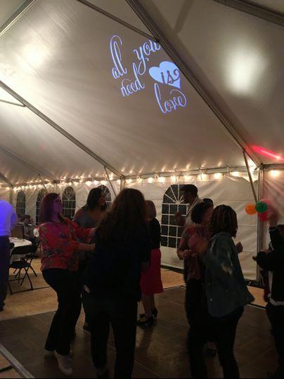 Tent Reception 2