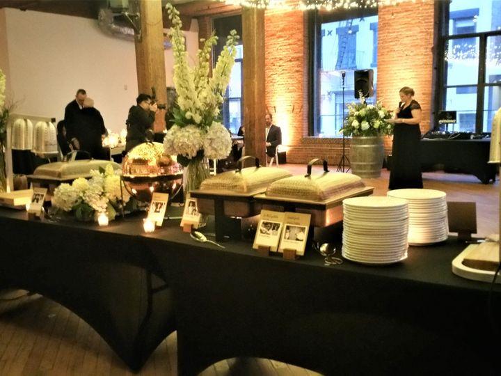 Tmx Buffet Dumbo Loft 51 479119 Mamaroneck, NY wedding catering
