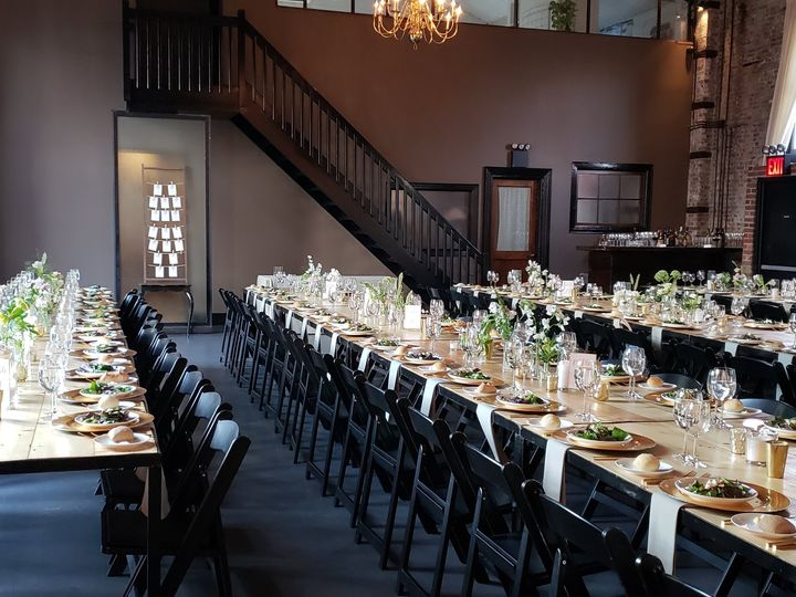 Tmx Green Building Farm Tables 51 479119 Mamaroneck, NY wedding catering