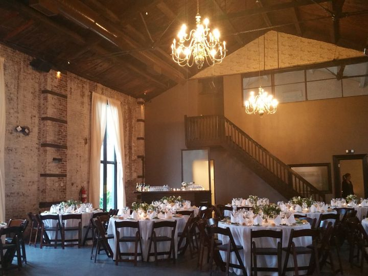 Tmx Green Building Tables And Bar 51 479119 Mamaroneck, NY wedding catering