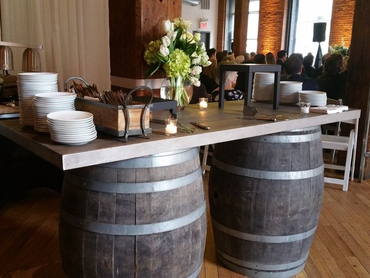 Tmx Wine Barrel Tables Station 51 479119 Mamaroneck, NY wedding catering