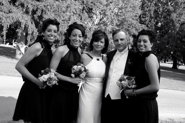 Joe, Donna and their girls. One of the best Weddings I've ever been involved with.