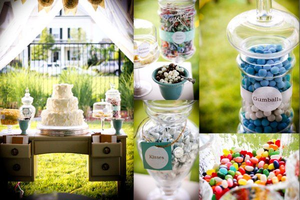 Candy Table and Cake