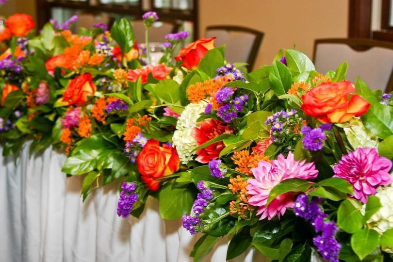 Fall Head Table