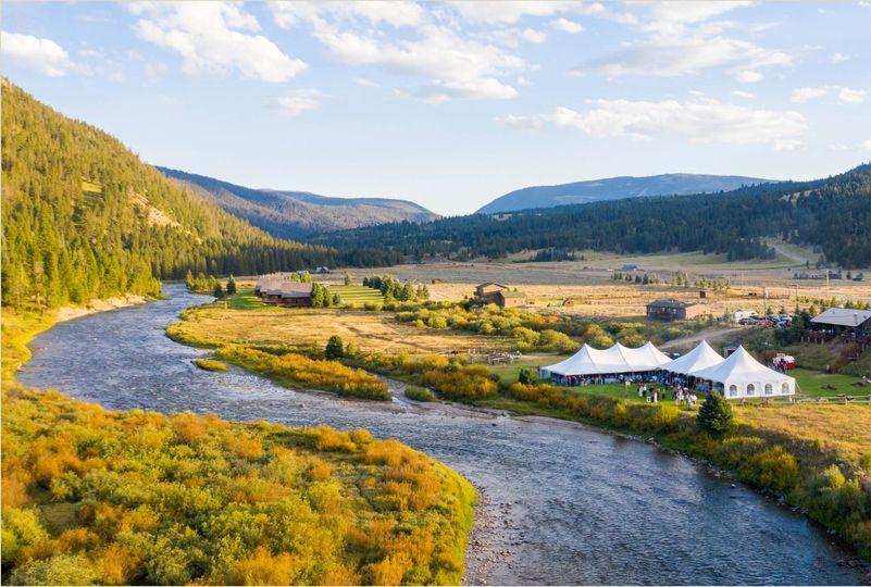 Gallatin river and venue