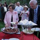 Tasteful appointments and lovely displays launch our barbecue to the upscale level your wedding...