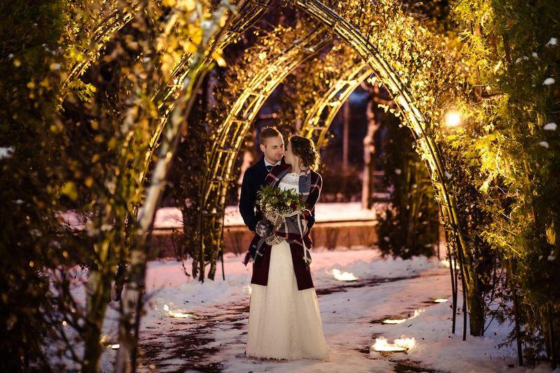 Year End Christmas Wedding