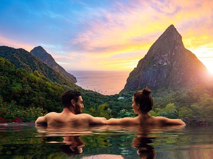 Tmx Saint Lucia Couple In Infinity Pool 51 644219 1567812262 Gonzales, LA wedding travel
