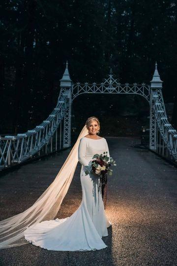 Bride on Cinderella Bridge