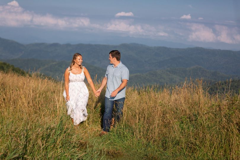 Mountaintop Engagement Session