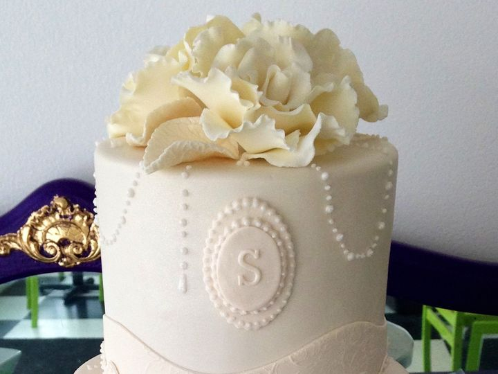 Tmx 1418071538240 Img0243 Johnston, Rhode Island wedding cake