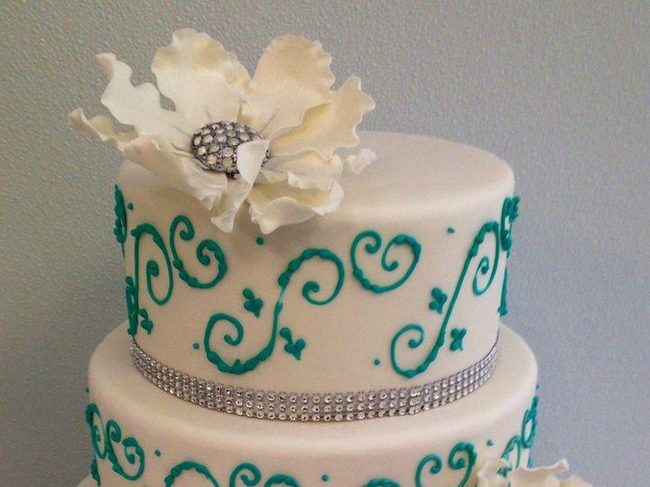 Tmx 1418071734087 Img1923 Johnston, Rhode Island wedding cake