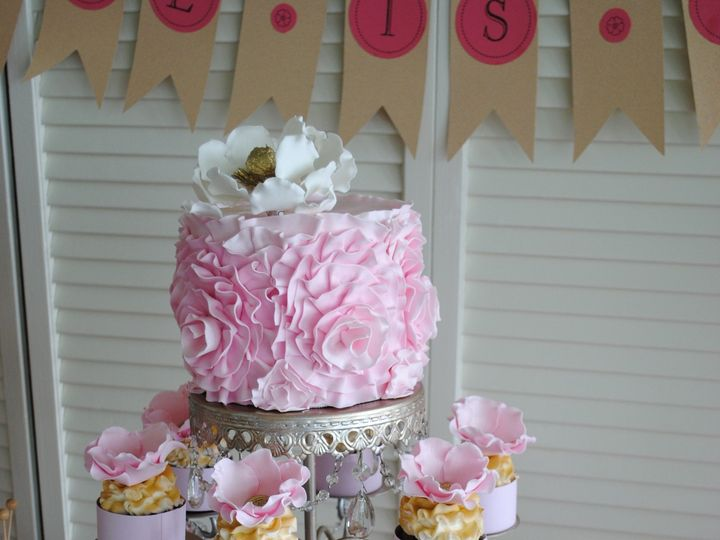 Tmx 1418071878639 Dsc0121 Johnston, Rhode Island wedding cake