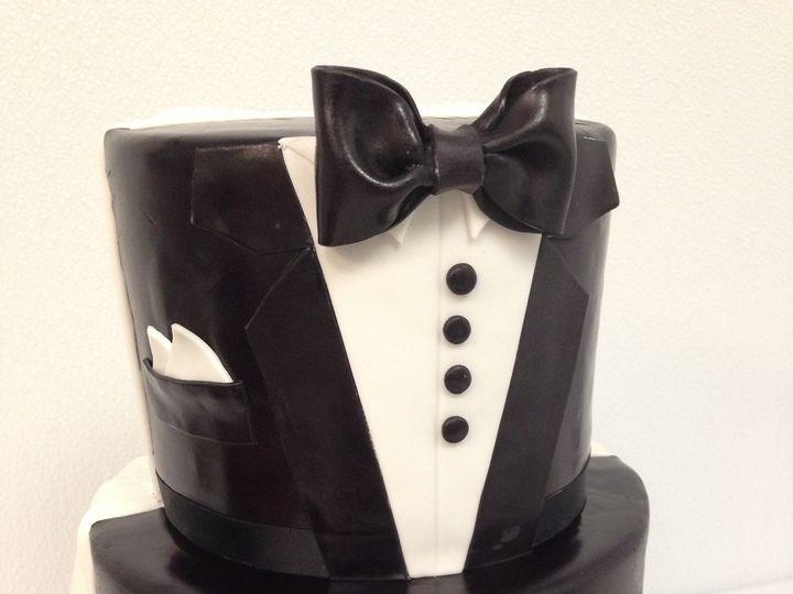 Tmx 1418071948835 Img2398 Johnston, Rhode Island wedding cake