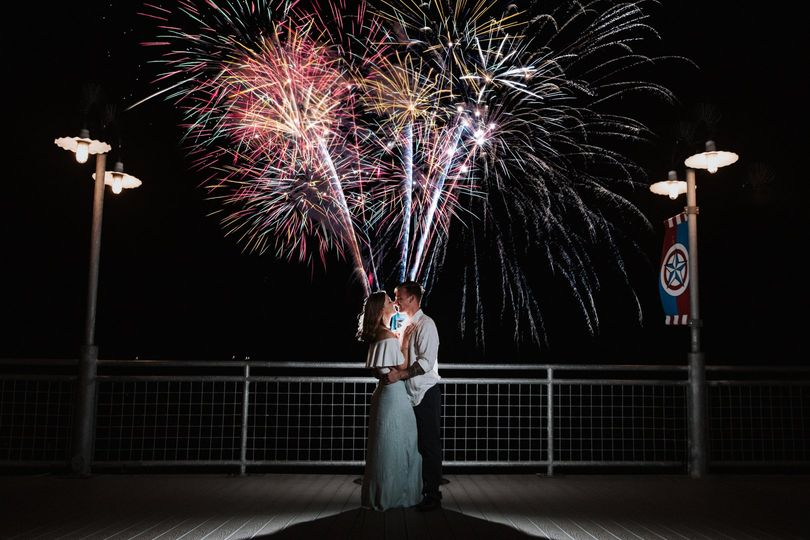 Kemah Boardwalk Fireworks!