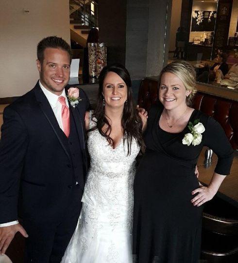 Kevin & Stephanie with Ashley