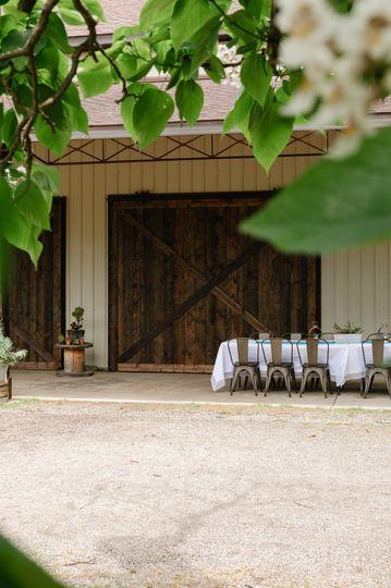 Wedding Barn view
