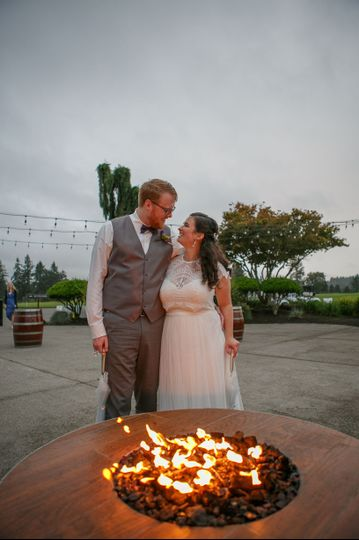 Fire Pit | Emily G Photography