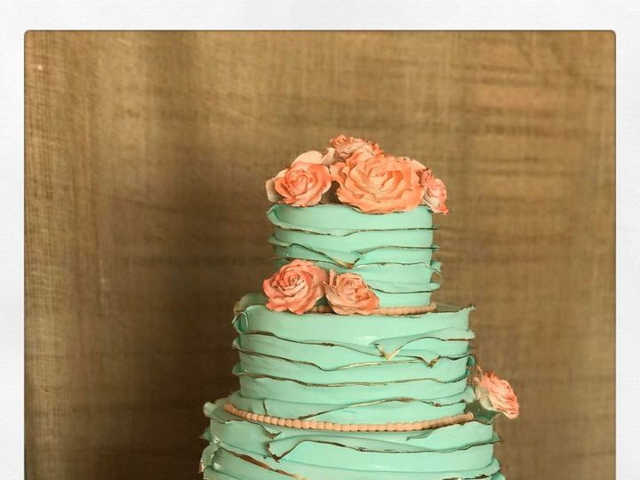 Tmx 1493396432474 4tierquinceaeracakeweddingcake Denver wedding cake
