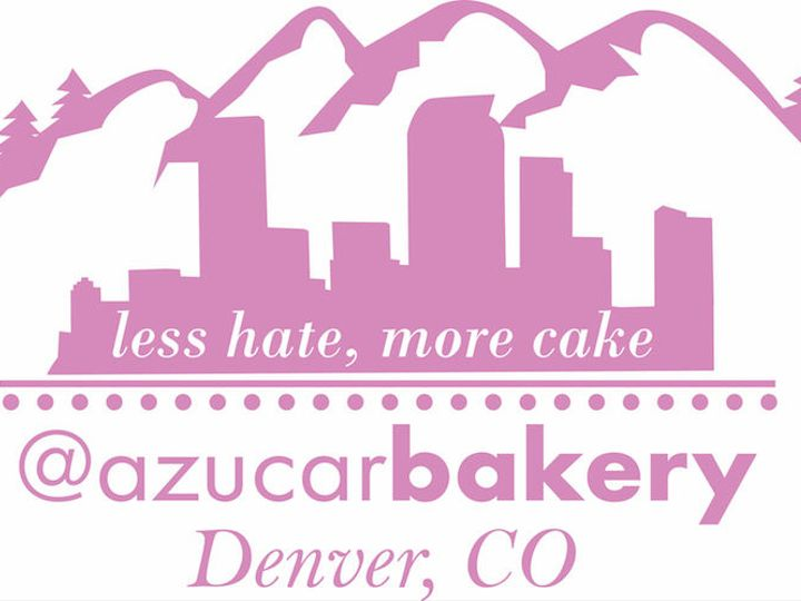 Tmx 1517762600 1416936d86c71822 1517762599 Cb57b2bc672b4a75 1517762598806 5 AzucarBakeryNewLog Denver wedding cake