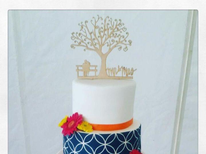 Tmx 1517763244 5a7226ef64051baf 1517763242 C4170f7715e9a913 1517763241419 4 FondantWedding3tie Denver wedding cake