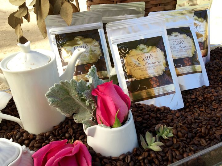 Café Bello Amanecer, 100% Artisanal Puerto Rican Coffee. Perfect gift as a wedding favors for your...