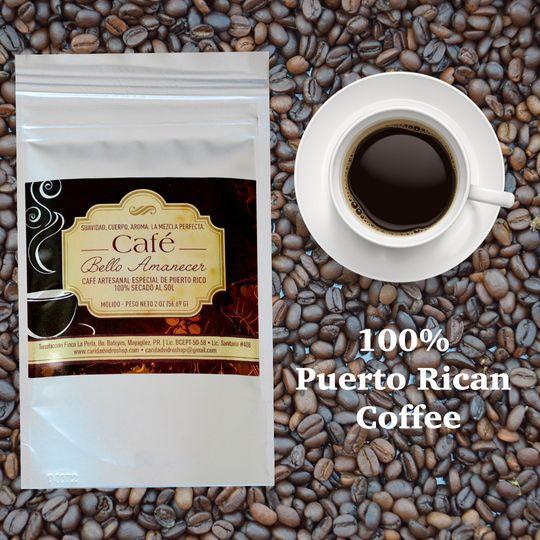 cafe y taza granos