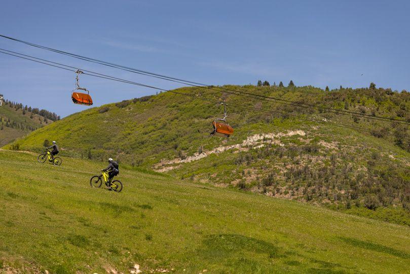 Mtn Biking, Canyons Village