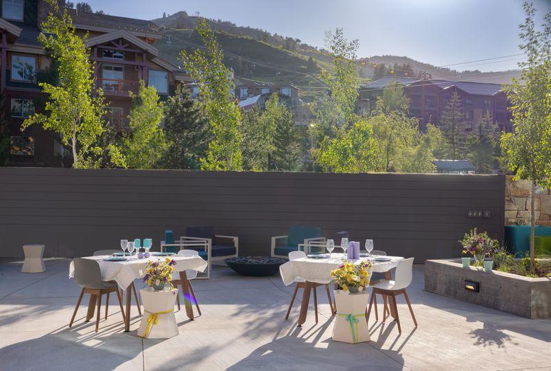 Reception, Backyard Venue