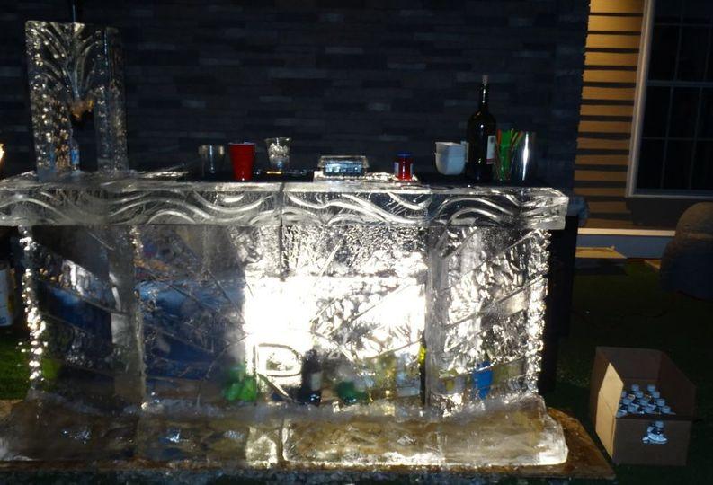 Ice bar event