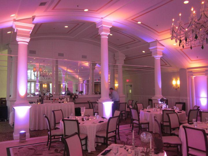 Equinox wedding uplights