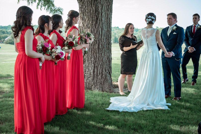 Stunning Bridal Party!