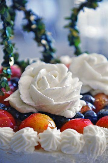 Cheesecake Rosette
