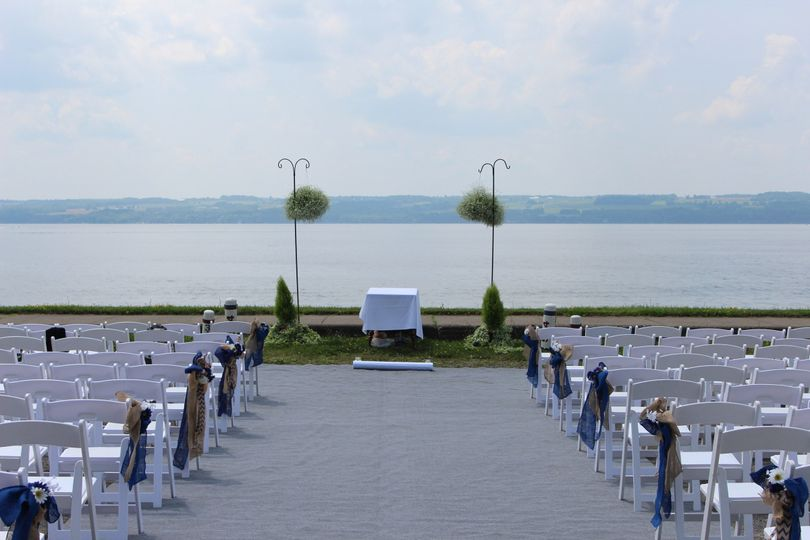Waterfront ceremony space