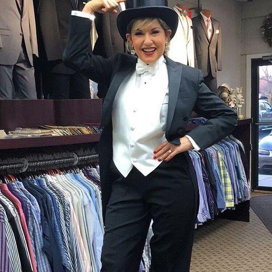 Tuxedo made for women