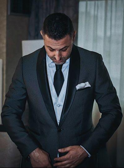 Groom custom tuxedo