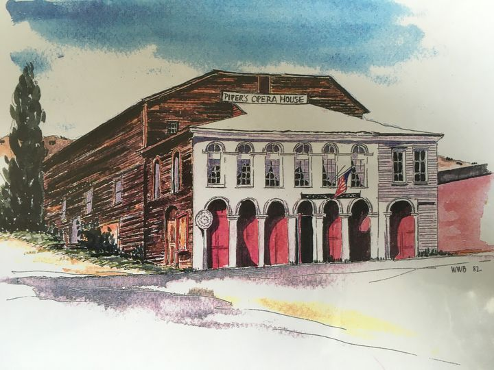 Drawing of the venue
