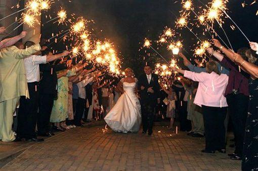 Wedding sparklers 10 inch