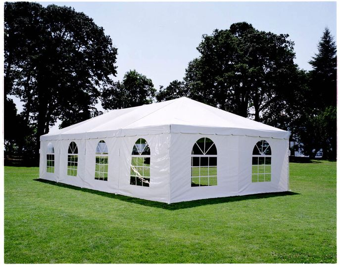 Tents with sidewalls