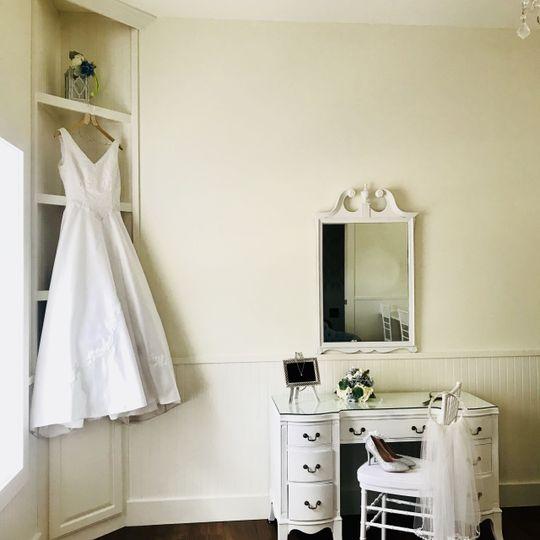 Bride ready room