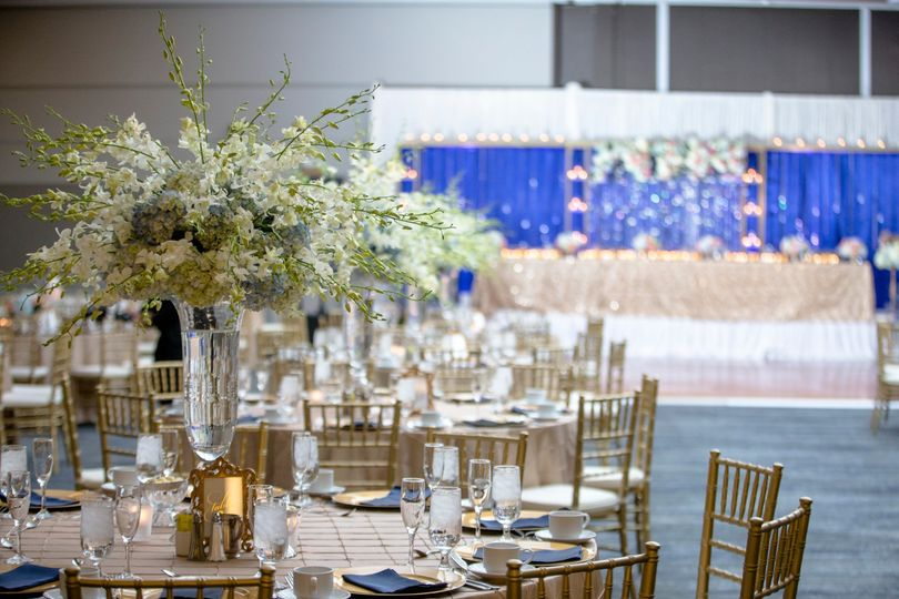 Ballroom reception details