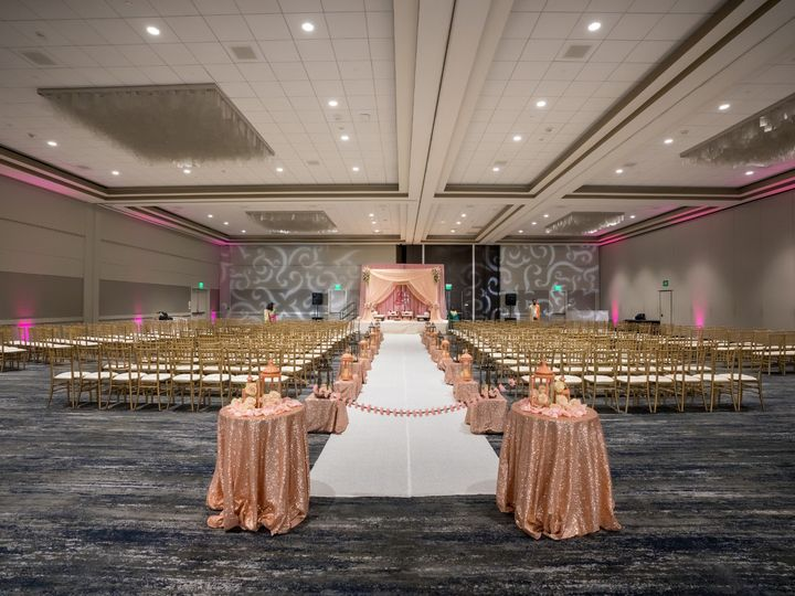 Tmx Hyatt Regency San Francisco Airport Wedding Ceremony Seating Back 51 522419 158327607056992 Burlingame, CA wedding venue