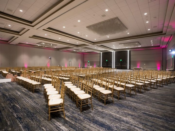 Tmx Hyatt Regency San Francisco Airport Wedding Ceremony Seating Right 51 522419 158327607083778 Burlingame, CA wedding venue