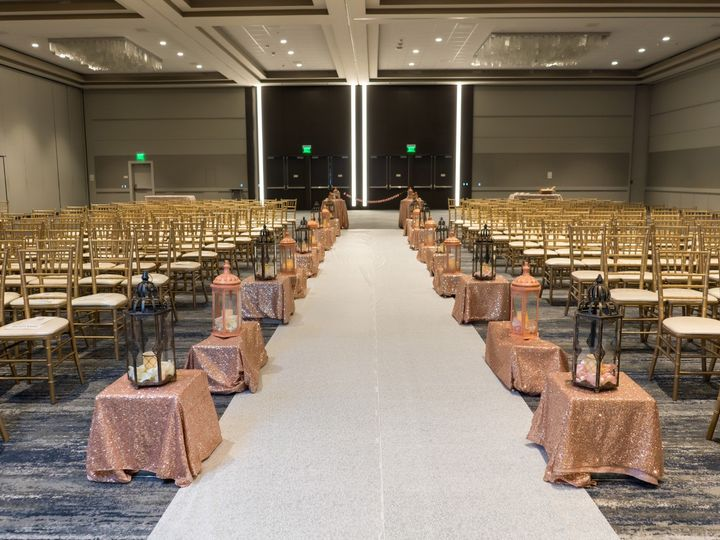 Tmx Hyatt Regency San Francisco Airport Wedding Ceremony Seating 51 522419 158327607016667 Burlingame, CA wedding venue