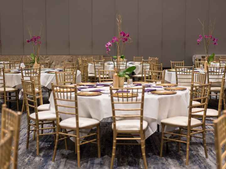 Tmx Hyatt Regency San Francisco Airport Wedding Reception Seating1 51 522419 158327607211253 Burlingame, CA wedding venue